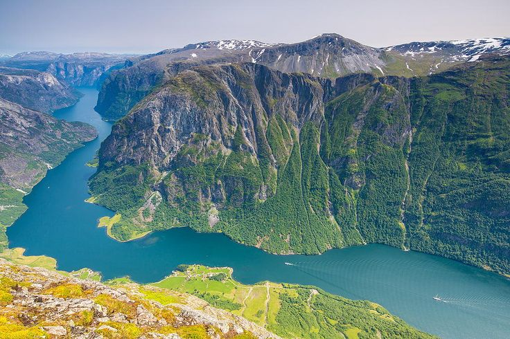 Fjord with a bend by Espen Haagensen on 500px