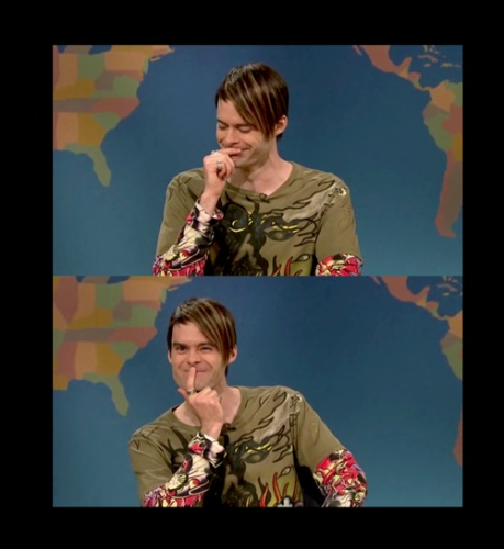 Stefon! Love it when bill can't keep a straight face when he does stefon.  My favorite SNL character