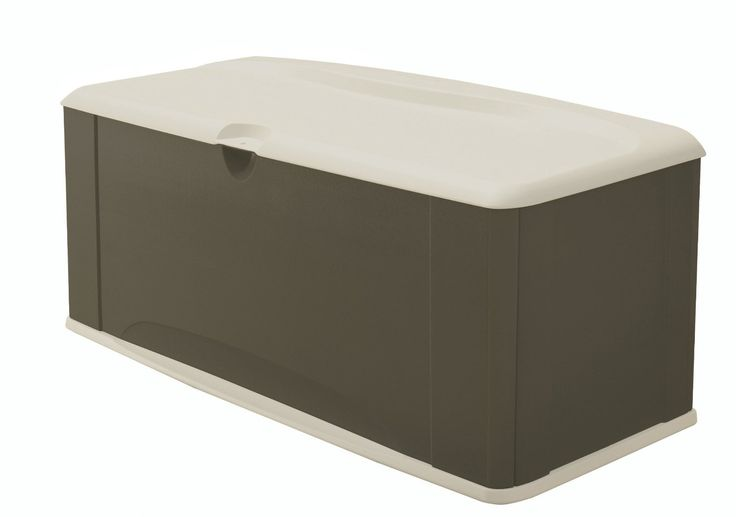 Amazon.com : Rubbermaid 5E39 Extra Large Deck Box with Seat, Sandstone : Outdoors Patio Furniture Waterproof Clearance : Patio, Lawn & Garden