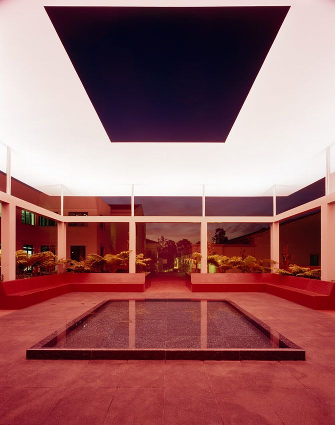 James Turrell U002765, Dividing The Light, 2007   Pomona College Museum Of Art Part 81