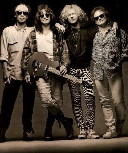 Van Halen with Sammy Hagar...........