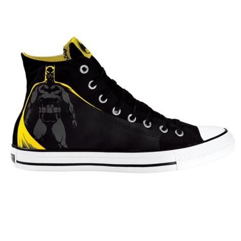 There are a whole bunch of Batman themed Converse at www.journeys.com.  most are about $60.