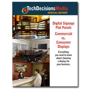 What you need to know to buy a digital signage flat panel display