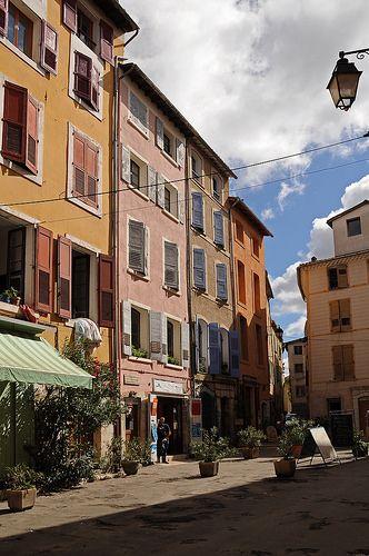 Centre Ville, Riez, Provence