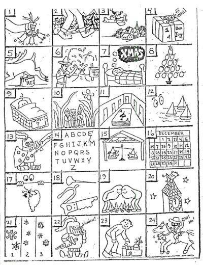 See if you and your students can solve these rebus puzzles! Here are the answers: 1. Jingle Bells2. Walking in a Winter Wonderland3. Santa Claus is Co...