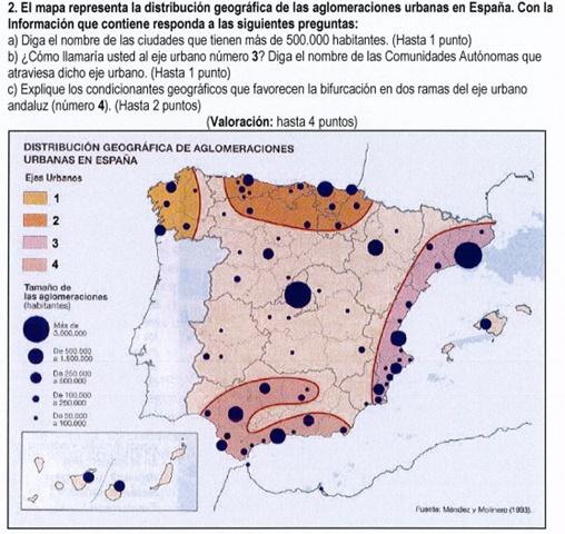 2009. Aglomeraciones urbanas (1993).