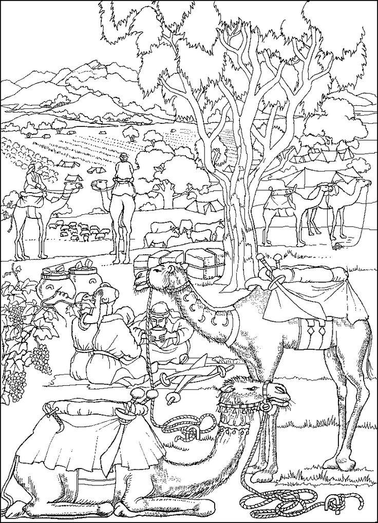 gideon abda bible coloring pagescoloring sheetsbible storiessunday - Gideon Bible Story Coloring Pages
