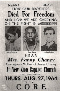 Civil rights martyrs: James Earl Chaney, Andrew Goodman, and Michael Schwerner
