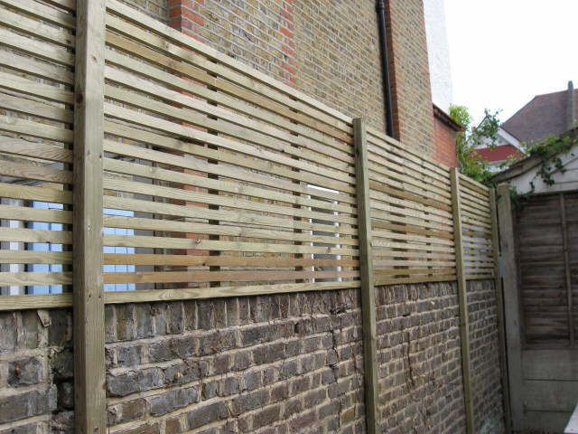 Softwood latteral Trellis