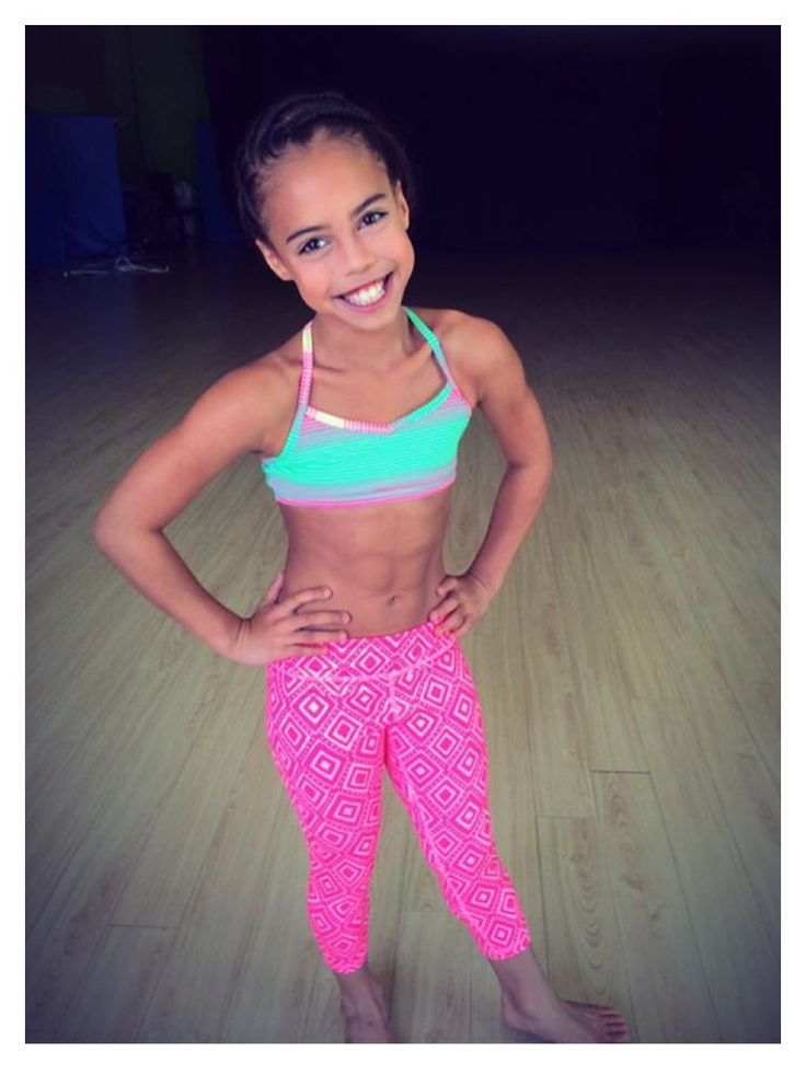 That's sad. Someone younger then me has abs and I don't lol. Love Asia (: