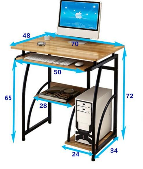 Lux Fashion Simple Computer Desk Home Study Office Furniture
