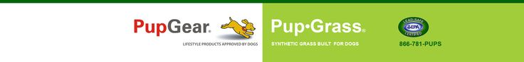 Pup-Grass® Synthetic Artificial Grass for Dogs with Instant Drainage and Antimicrobials