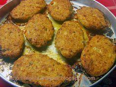 Τα φαγητά της γιαγιάς - Μπιφτέκια κοτόπουλο ή γαλοπούλα με λαχανικά