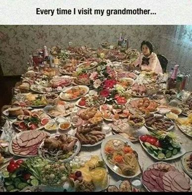 And if she had known you were coming she would have got some food in.http://www.corfupropertyexperts.com/