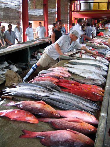 Seychelles Fish-market