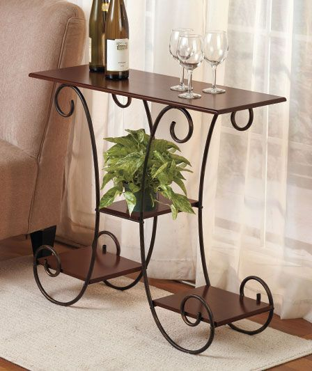 Scrolled Accent Table | The Lakeside Collection. I need a little table for the end of my hallway.