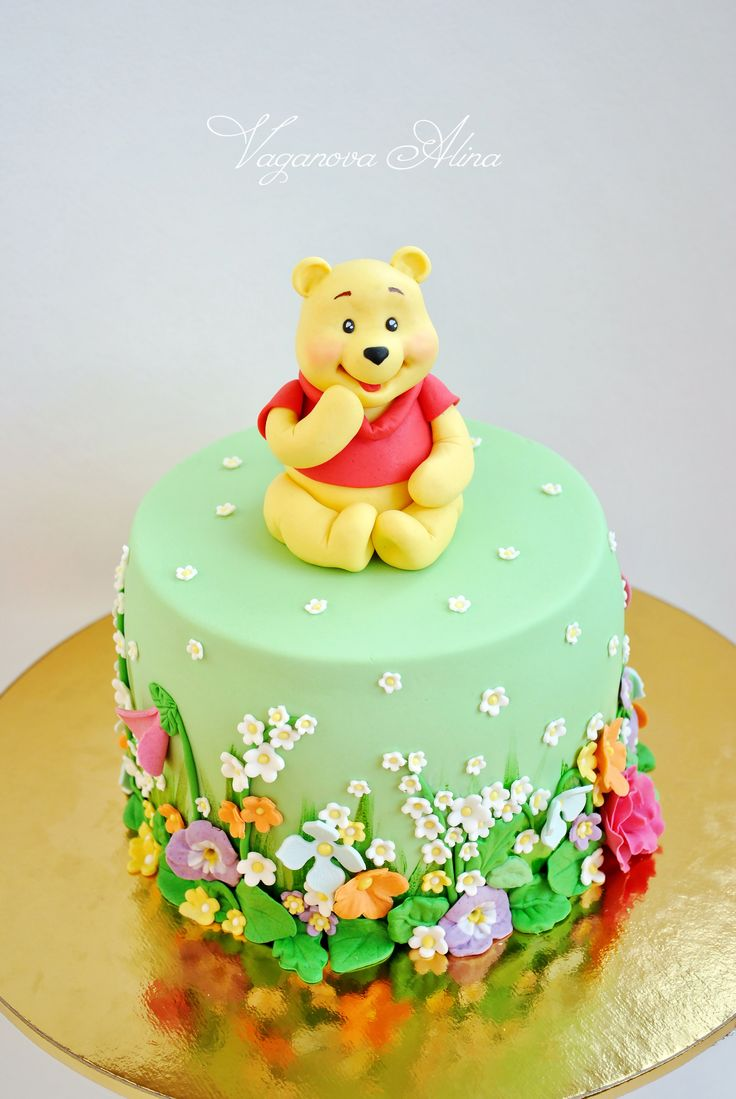 Cake Decorating Without Fondant : Best 25+ Winnie the pooh cake ideas on Pinterest Winnie ...