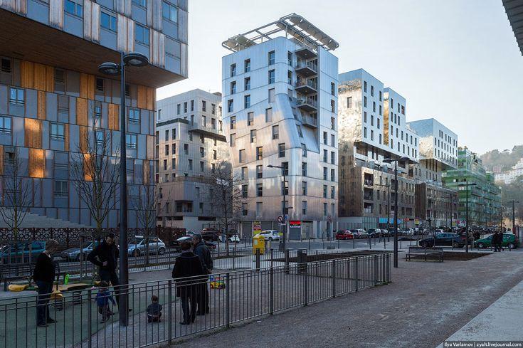 Приятно что читатели этого блога разделяют мою любовь к  Приятно что читатели этого блога разделяют мою любовь к современной архитектуре Сегодня покажу очень очень интересный проект В Лионе заканчивает