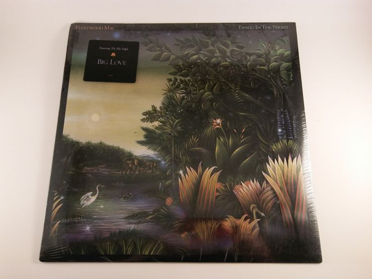 FLEETWOOD MAC Tango in the Night SEALED USA Hype Sticker ORIG Vinyl LP FREE SHIP