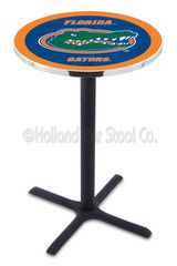 This style, cross-base Florida Gators pub table will make your basement look better than any of your local sports bars. Sturdy and easy to assemble. $242 with free shipping!