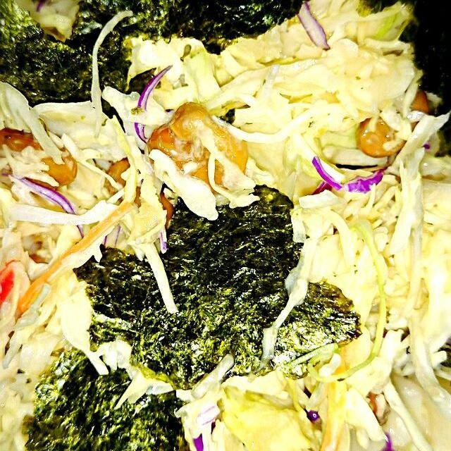 病みつきです! - 16件のもぐもぐ - アレンジ無限キャベツと納豆サラダ!納豆がありすぎで!クックパッドを参考にしました!! by kurukuruyamaton