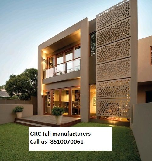 Small House Elevation Design House Elevation: GRC Jali Manufacturer Supplier In Delhi Gurgaon Noida