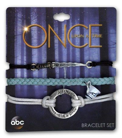 Find Once Upon a Time Bracelets - Set of 3 : High Intencity ( 794187071983 )  and browse other popular gift items in Gift gifts at Booksamillion.com, Books-A-Million's online book store