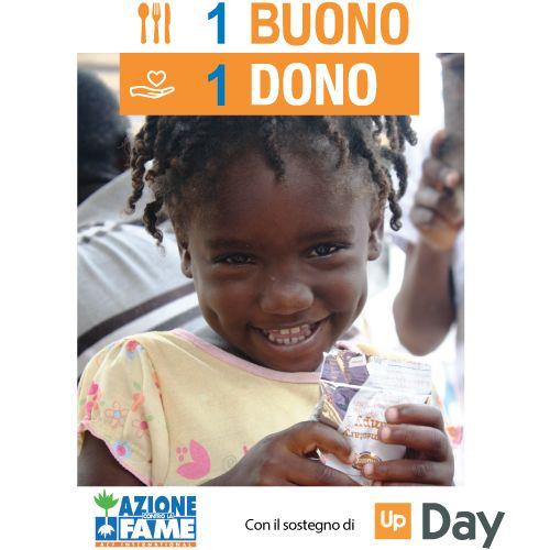 Buoni pasto per salvare bambini dalla malnutrizione con ACF e Day