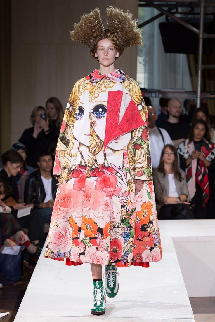 Comme des Garçons Spring 2018 Ready-to-Wear Collection Photos - Vogue
