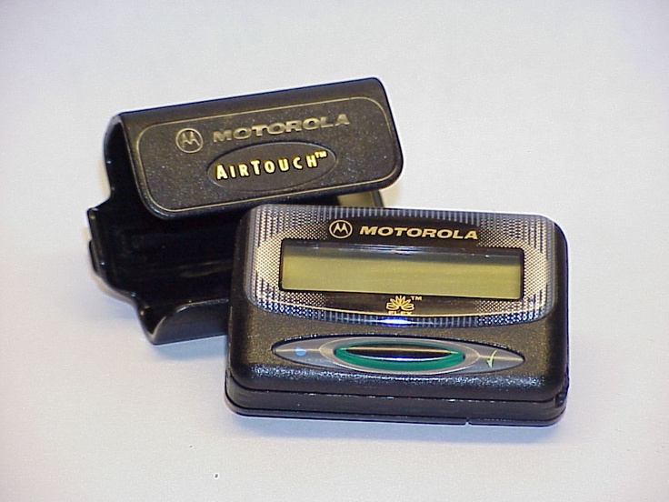 Motorola LS750 Numeric Pager Beeper with Housing and Holster At | eBay