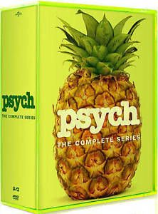 cds dvds vhs: Psych: The Complete Series Seasons 1-8 (Dvd, 31-Disc Box Set) - Brand New Sealed -> BUY IT NOW ONLY: $56.99 on eBay!