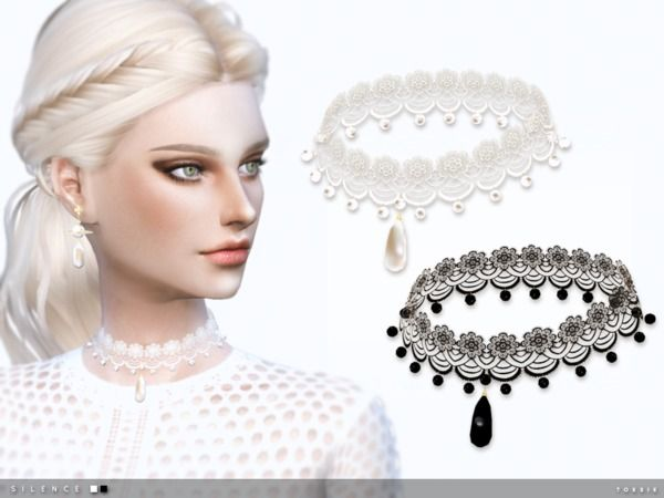 The Sims Resource: Silence Choker by toksik • Sims 4 Downloads