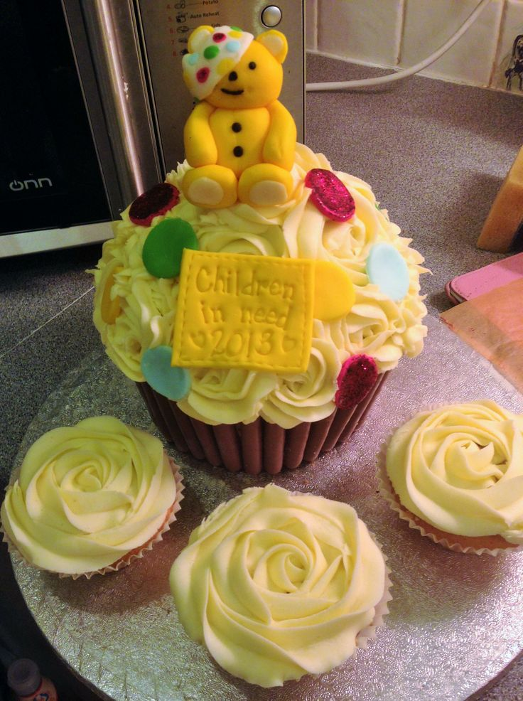 Children In Need Giant cupcake!
