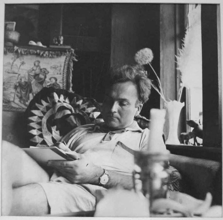 Patricia Jordan: Robert Duncan Reading at Stinson Beach, 1959