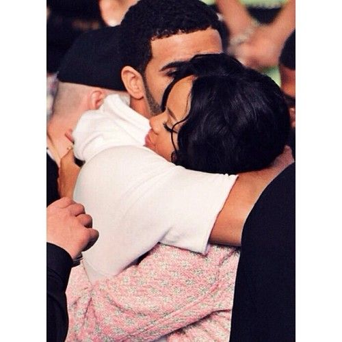 Drake, rihanna, and love image
