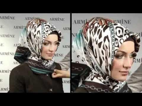 Hijab Fashion: Armine Eşarp Bağlama Modelleri # 3 - YouTube