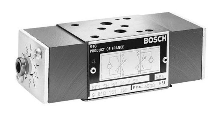 Bosch Rexroth 9 810 161 089 Modular Hydraulic Meter In/Out Interchangeable Valve #BoschRexroth