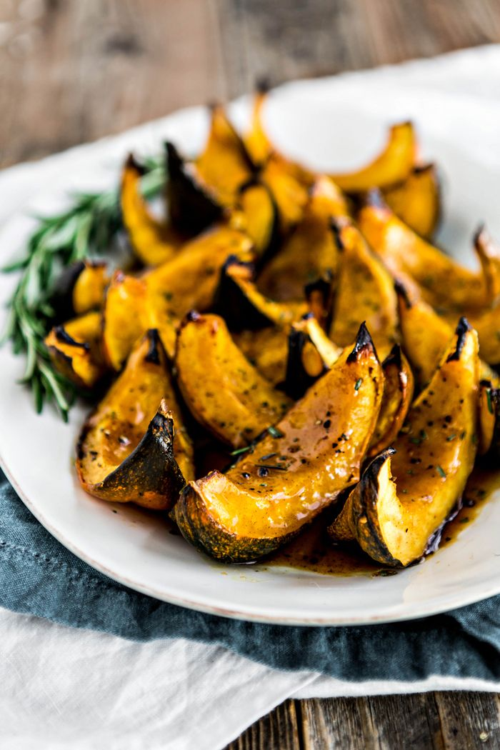 This Apple Cider Roasted Squash With Rosemary Is A Great Easy