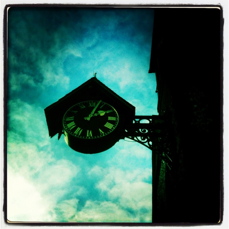 Telling the time in Lewes