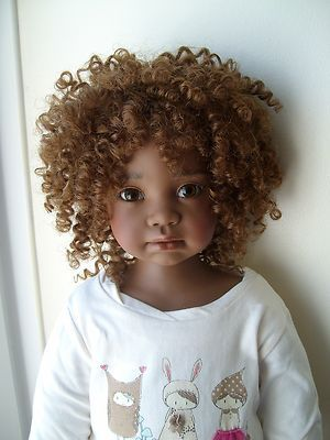 "OOAK Angela Sutter Artist Doll ""Peaches""  What a beautiful doll!                                                                                                                                                                                 More"