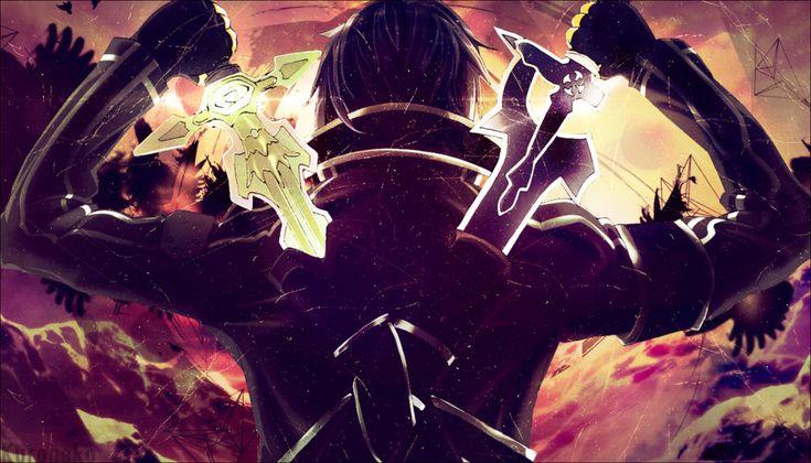 [Wallpaper] Sword Art Online ~Kirito by KuronekoYuuki.deviantart.com on @DeviantArt