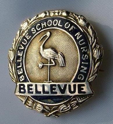 Bellevue Hospital School of Nursing Graduation Pin 1929