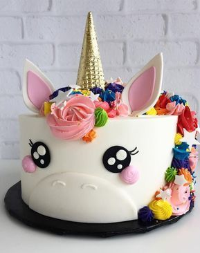 Unicorn Cakes Do Exist and They�re Downright Whimsical and Adorable via @PureWow