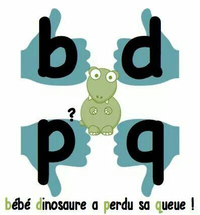 Bébé Dinosaure a Perdu sa Queue. ~ Pour ceux qui entremêle ces quatre lettres.