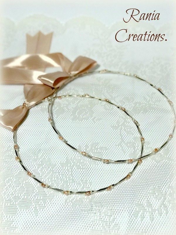 Wedding Crowns.Stefana.Orthodox Ceremony Crowns.Bridal Crowns.Greek wedding Crowns.Greek Crowns.Στεφανα.Greek Stefana.Bridal Crowns.ROSA by RaniaCreations on Etsy