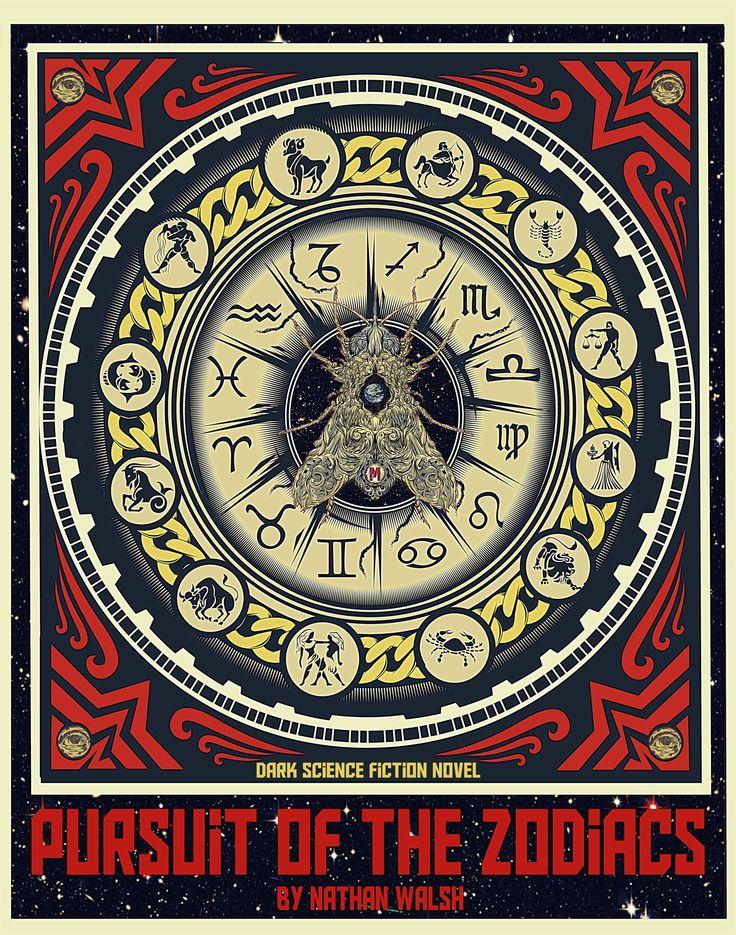 Book Cover Fantasy Zodiac : Best art based off my dark science fiction novel