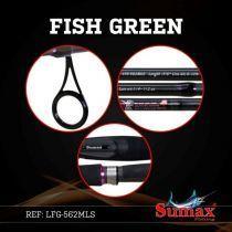 Vara Sumax Fish Green - Todos Os Modelos! - Tucunare Pesca