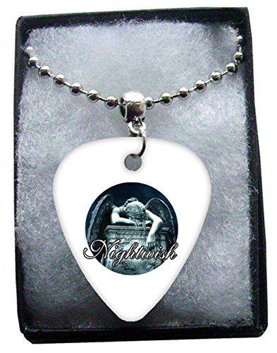 Nightwish Metal Guitar Pick Necklace Ball Chain Collier Médiator Classic Rock Guitar http://www.amazon.fr/dp/B00T7YZ1M2/ref=cm_sw_r_pi_dp_-Kwmvb0EE0VYM