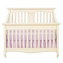 Babi Italia Mayfair Flat Convertible Crib-Oyster Shell via BabiesRus