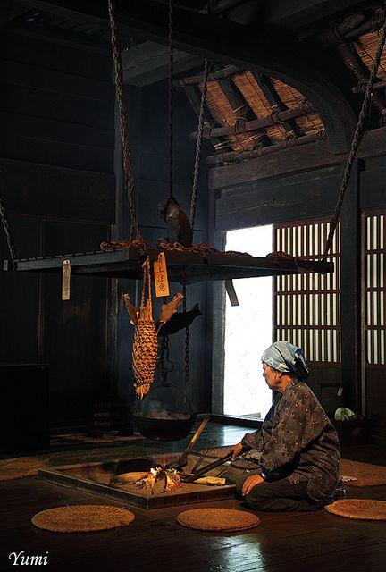囲炉裏端 |The heart,old Japan.
